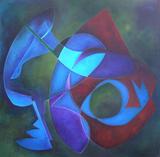 2009-09 Acryl Leinwand (100x100 cm)