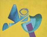 1980-10 Acryl Leinwand (24x30 cm)