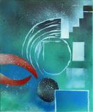 2013-10 Acrylspray Leinwand (60x50 cm)