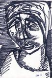 1960-56 Filzstift (23x15 cm)