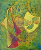 2020-18 Acryl Holzspanplatte (66x80 cm)