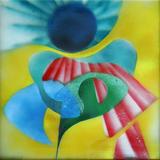 2013-07 Acrylspray Acrylplatte (60x60 cm)