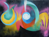 2019-04 Acrylspray Leinwand (60x80 cm)