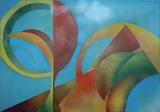 2014-02 Acrylspray Leinwand (70x100 cm)