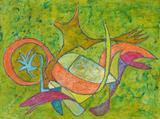 2021-01 Acryl Holzspanplatte (62x84 cm)