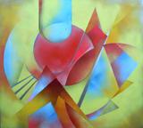 2015-01 Acrylspray Acrylplatte (90x100 cm)