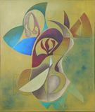 2009-10 Acryl Leinwand (60x50 cm)
