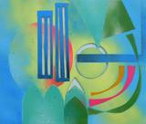 2015-09 Acrylspray Acrylplatte (45x50 cm)