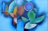 2016-08 Acrylspray Holzspanplatte (40x60 cm)
