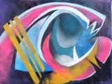 2019-02 Acrylspray Leinwand (60x80 cm)