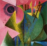 1980-12 Acryl Jute (50x50 cm)