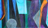 2011-14 ML Mischtechnik Öl Acryl (60x100 cm)