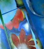 2013-28 Acrylspray Leinwand (100x90 cm)