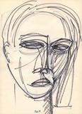 2012-01 Zeichnung Nr 1960-55 (1960) Filzstift (28x20 cm)