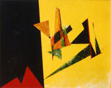 1980-01 Acryl Leinwand (24x30 cm)