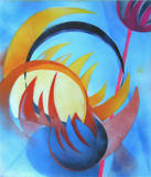 2015-02 Acrylspray Acrylplatte (70x60 cm)