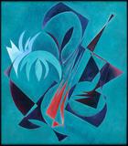 2008-05 Acryl Holzspanplatte (84x74 cm)