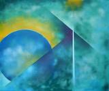 2013-12 Acrylspray Leinwand (100x120 cm)