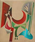 2009-04 Acryl Leinwand (60x50 cm)