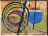 1960-10 Wasserfarbe Pappe (28x37 cm)