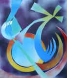 2015-06 Acrylspray Acrylplatte (70x60 cm)