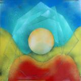 2013-08 Acrylspray Acrylplatte (60x60 cm)