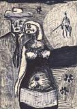 1960-23 Filzstift (29x20 cm)
