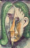 1960-68 Aquarell Papier (74x47 cm)