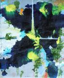 2011-10 MT Mischtechnik und Öl Acryl Transparentpapier (60x50 cm)