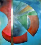 2014-04 Acrylspray Aluplatte (100x90 cm)