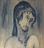 1960-69 Tinte Papier (54x58 cm)