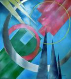 2014-03 Acrylspray Aluplatte (100x90 cm) (Karneval in Koeln)
