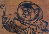 1950-02 Tinte auf Pappe (40x56 cm)