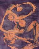 1960-70 (Ausschnitt) Aquarell Tinte Papier (70x45 cm)