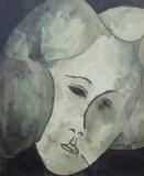 1960-03 Wasserfarbe Papier (28x23 cm)