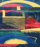 1960-07 Foto Farbstift Styropor (45x53 cm)