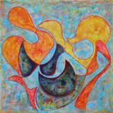 2020-24 Acryl Leinwand (100x100 cm)