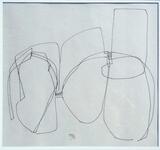 1960-06 Kugelschreiber Papier (38x41 cm)