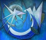 2011-11 Acryl MDF-Platte (130x150 cm)
