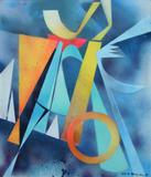 2015-03 Acrylspray Acrylplatte (70x60 cm)