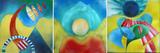 Gruppierung 2013-B (2013-09 2013-08 2013-07) Acrylspray Acryplatte (60x180 cm)