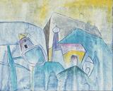 1980-06 Acryl Leinwand (24x30 cm)