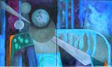 2011-15 ML Mischtechnik Öl Acryl (60x100 cm)