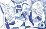 1960-01 Kugelschreiber (13x20 cm)