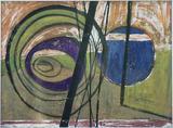 1950-01 Aquarell Pappe (30x40 cm)