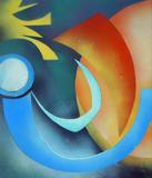 2015-07 Acrylspray Acrylplatte (70x60 cm)