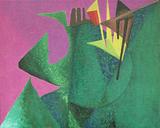 1980-05 Acryl Leinwand (24x30 cm)